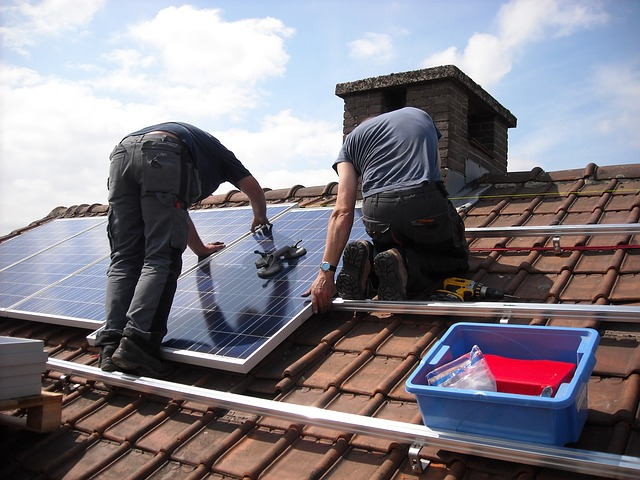 nettoyage panneaux photovoltaiques Montigny-sur-Loing